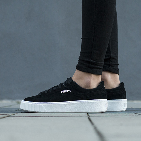Puma Basket Platform Elemental - Women Shoes