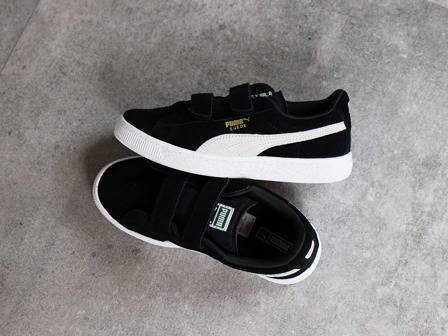 Children's Shoes sneakers Puma Suede 2 Straps 359595 01