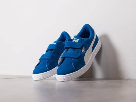 Children's Shoes sneakers Puma Suede 2 Straps 359595 02