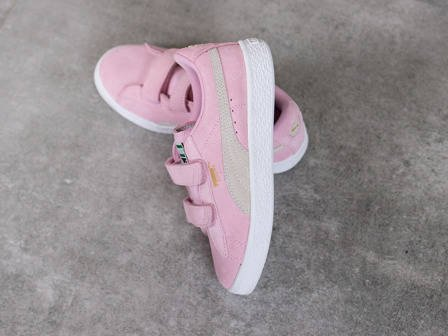 Children's Shoes sneakers Puma Suede 2 Straps 359595 23