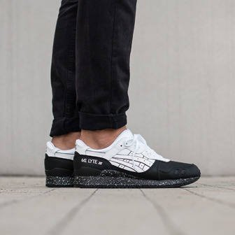 Men's Shoes sneakers Ascs Gel Lyte III Oreo Pack H6T1L 0101