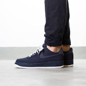 "Men's Shoes sneakers Nike Air Force 1 ""Obsidian"" 820266 403"