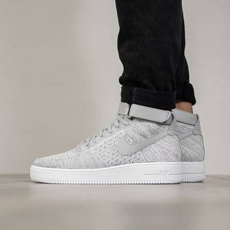 Men's Shoes sneakers Nike Air Force 1 Ultra Flyknit Mid 817420 003