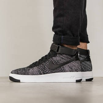 Men's Shoes sneakers Nike Air Force 1 Ultra Flyknit Mid 817420 004