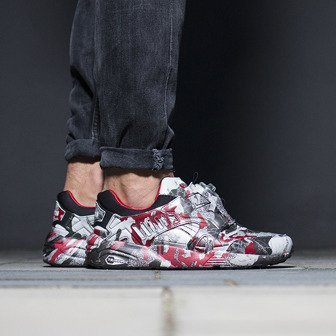 Men's Shoes sneakers Puma Disc Blaze Camo x Trapstar 361647 01