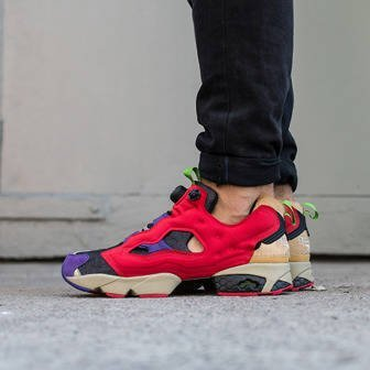 "Men's Shoes sneakers Reebok Instapump Fury OG ""Villains Pack"" Bebop AR1446"