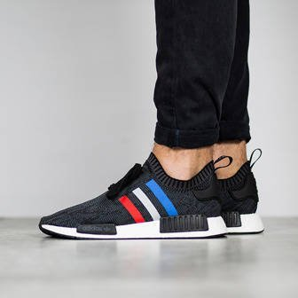 "Men's shoes sneakers adidas Originals NMD_R1 Primeknit ""Tri Color"" BB2887"