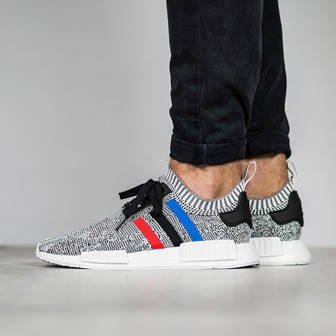 "Men's shoes sneakers adidas Originals NMD_R1 Primeknit ""Tri Color"" BB2888"