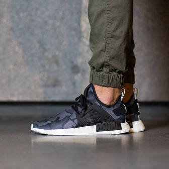 "Men's shoes sneakers adidas Originals NMD_XR1 ""Duck Camo Pack"" Core Black BA7231"