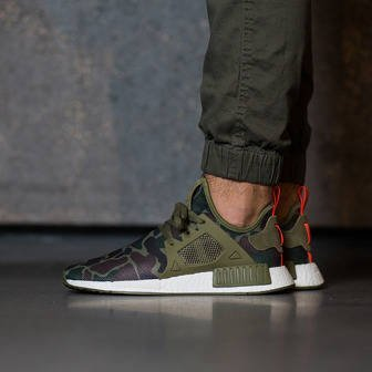 "Men's shoes sneakers adidas Originals NMD_XR1 ""Duck Camo Pack"" Olive Cargo BA7232"