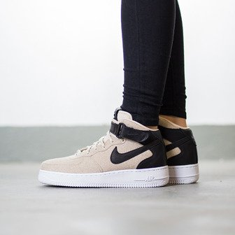 Women's Shoes sneakers Nike Air Force 1 '07 Mid Leather Premium 857666 001