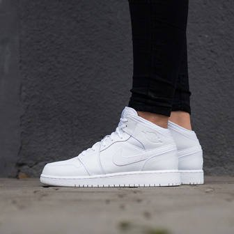 Women's Shoes sneakers Nike Air Jordan 1 Mid Bg 554725 110