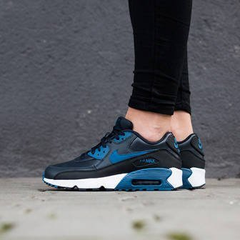 Women's Shoes sneakers Nike Air Max 90 Leather (GS) 833412 402