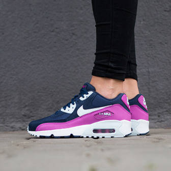 Women's Shoes sneakers Nike Air Max 90 Mesh (GS) 833340 402