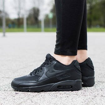 Women's Shoes sneakers Nike Air Max 90 Mesh (GS) 833418 001