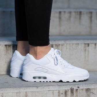 Women's Shoes sneakers Nike Air Max 90 Mesh (GS) 833418 100