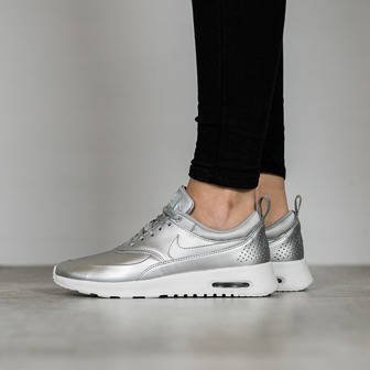 "Women's Shoes sneakers Nike Air Max Thea SE ""Metallic Silver"" 861674 001"