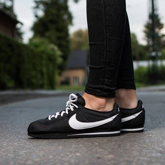 Women's Shoes sneakers Nike Cortez Nylon (GS) 749493 001