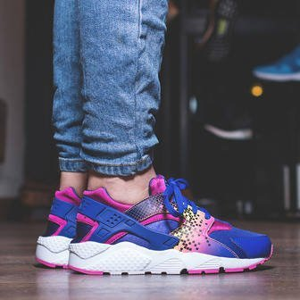 Women's Shoes sneakers Nike Huarache Run Print (GS) 704946 500