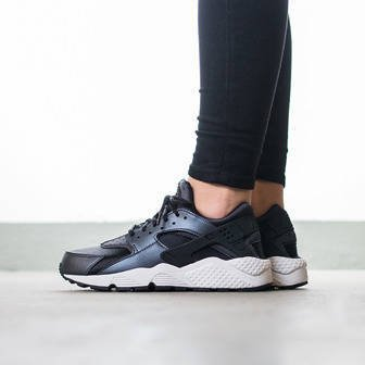 "Women's Shoes sneakers Nike Huarache Run SE ""Metallic Hematite"" 859429 001"