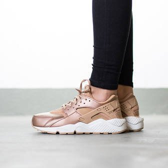 "Women's Shoes sneakers Nike Huarache Run SE ""Metallic Red Bronze"" 859429 900"