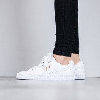 "Women's Shoes sneakers Puma Basket ""Heart Patent"" 363073 02"