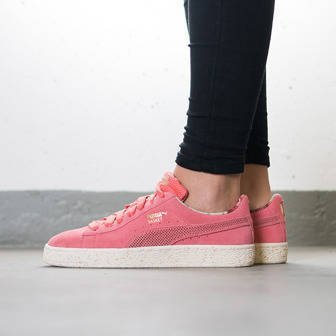 Women's Shoes sneakers Puma Basket X Careaux X Porcelain Rose 362307 01