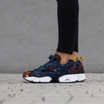 Women's Shoes sneakers Reebok Instapump Fury African Tribal Print AR1706