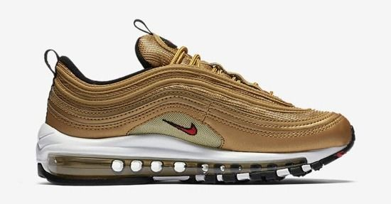 "Women's shoes sneakers Nike Air Max 97 ""Metallic Gold"" 885691 700"