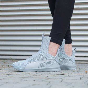 "Women's shoes sneakers Puma The Trainer X Fenty by Rihanna ""Quarry-Quarry"" 189193 04"