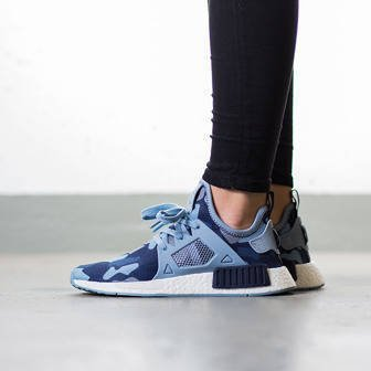 "Women's shoes sneakers adidas Originals NMD_XR1 ""Duck Camo Pack"" Midnight Grey BA7754"