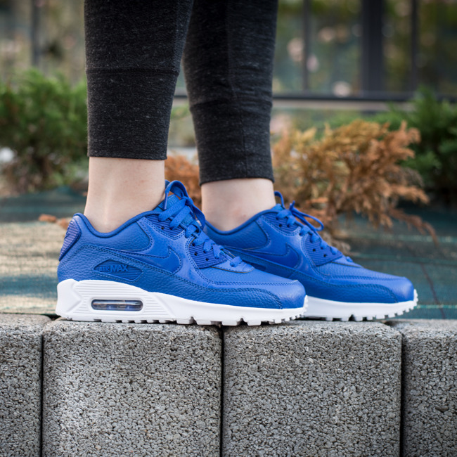 nike air max 90 blue leather