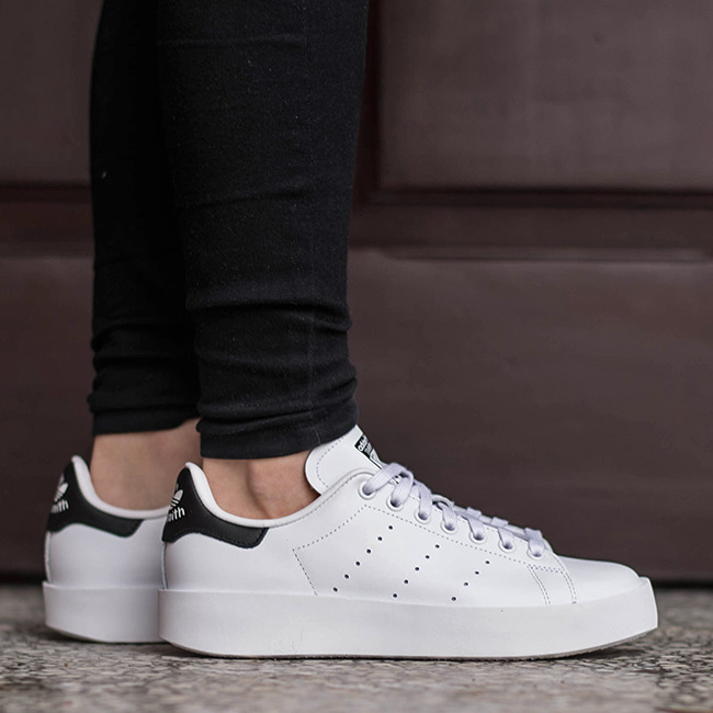 women 39 s shoes sneakers adidas originals stan smith bold s75213. Black Bedroom Furniture Sets. Home Design Ideas