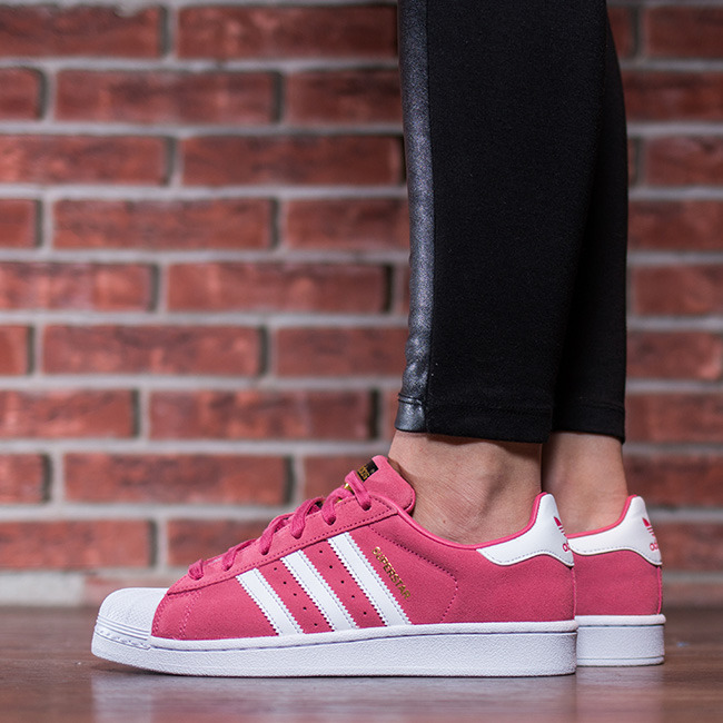 Adidas Originals Superstar J Pink