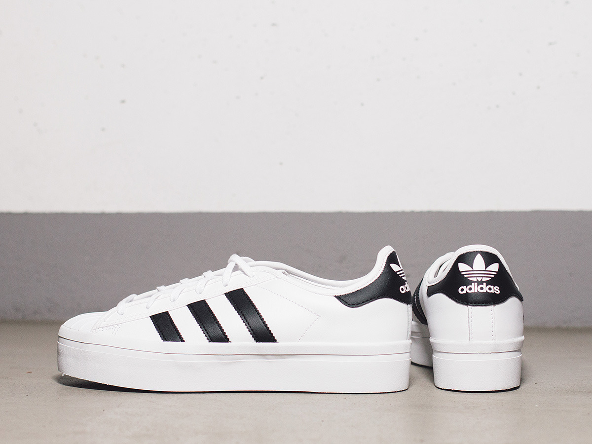 Womens Adidas Superstar Trainers UK Rize Black/White S75069; Adidas  Superstar Rize Womens