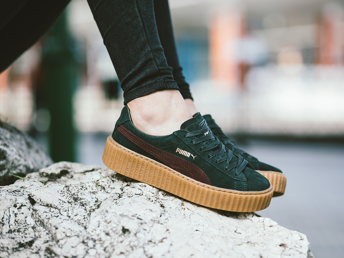 women 39 s shoes sneakers puma suede creepers fenty rihanna 361005 07 best shoes sneakerstudio. Black Bedroom Furniture Sets. Home Design Ideas