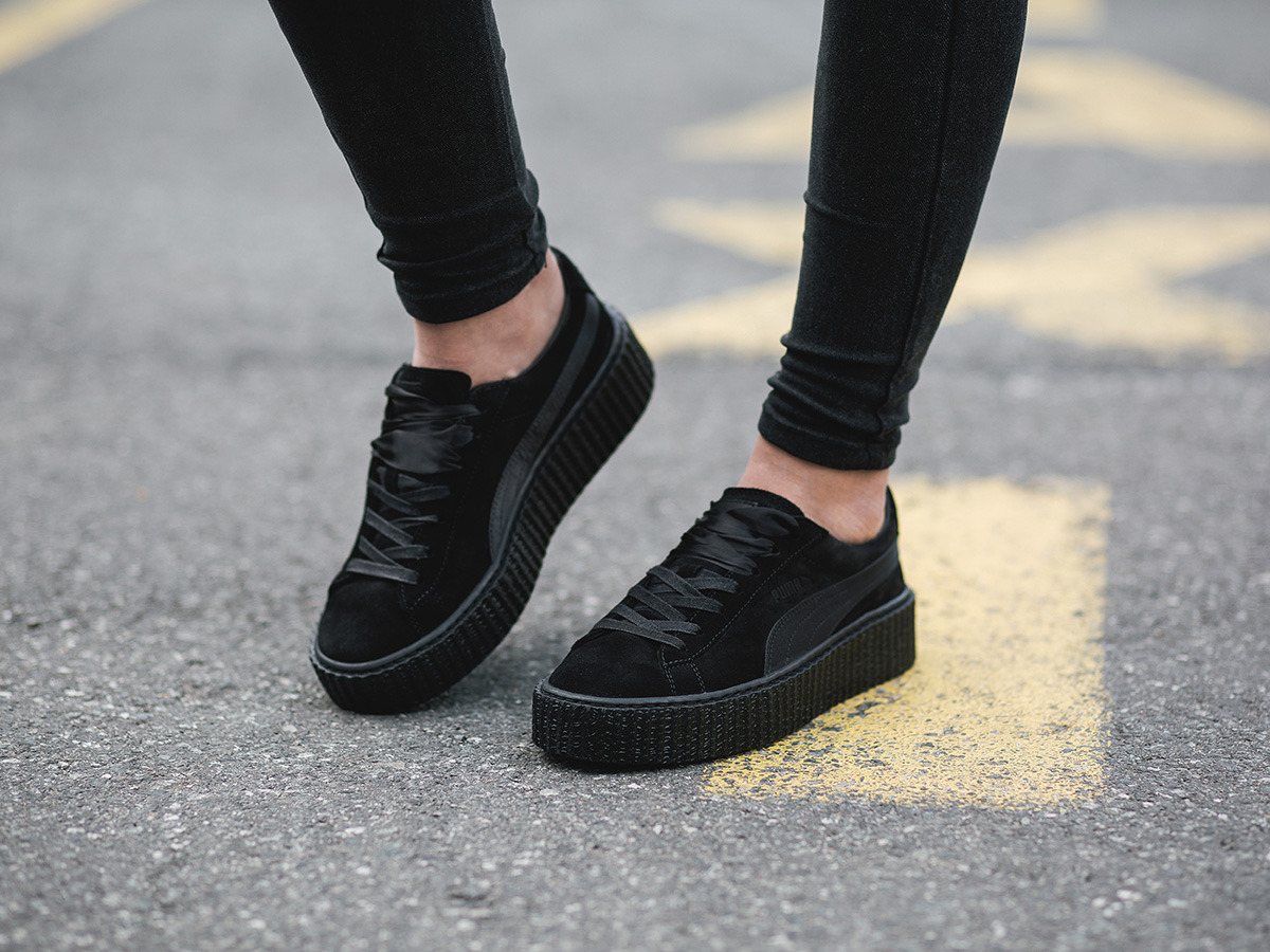 puma fenty creeper damen