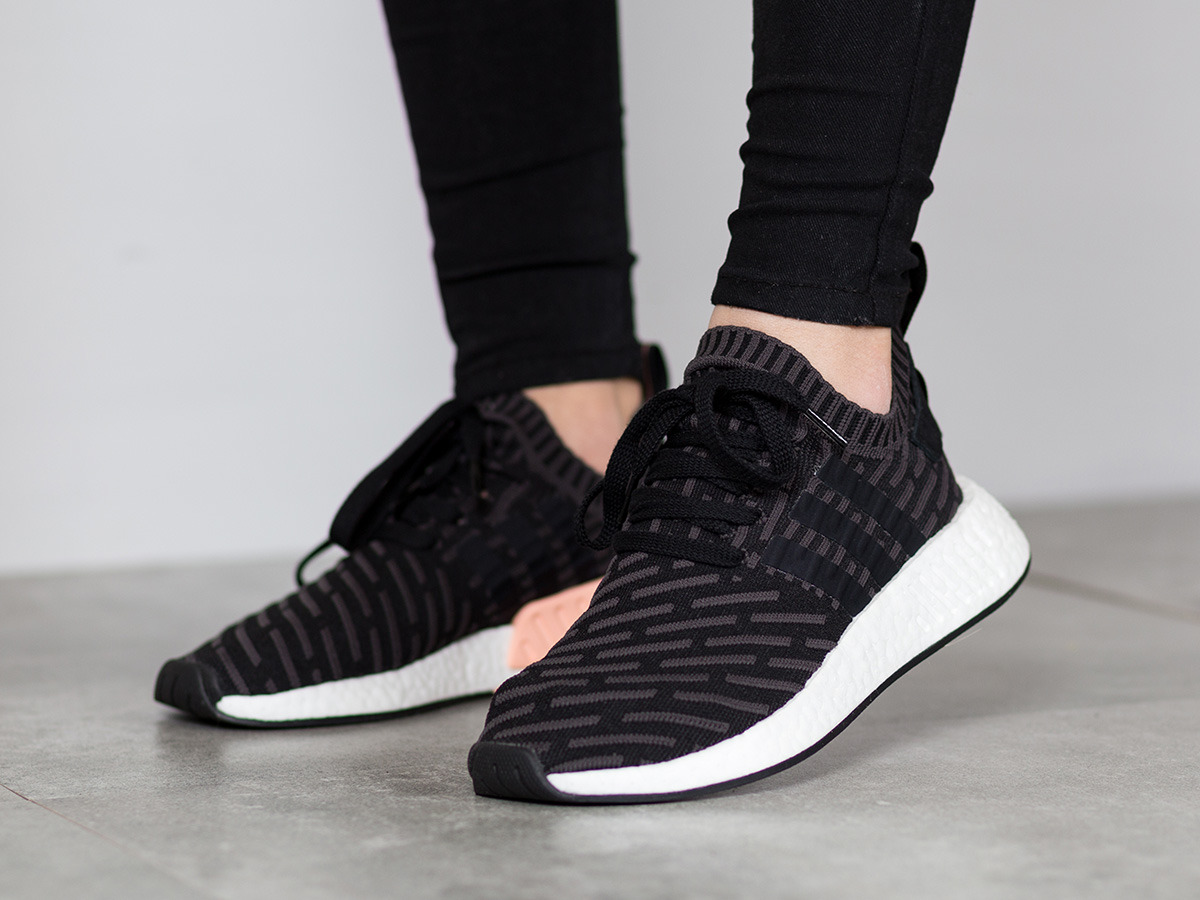women 39 s shoes sneakers adidas originals nmd r2 primeknit. Black Bedroom Furniture Sets. Home Design Ideas