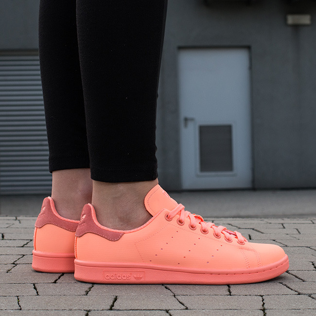 best website d9010 58eaf adidas originals stan smith womens Orange
