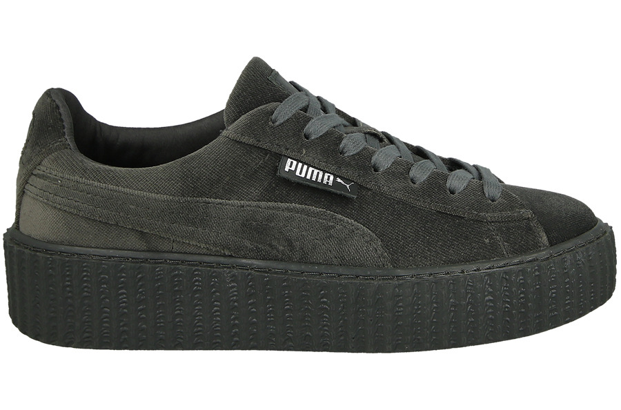 women 39 s shoes sneakers puma creeper velvet x rihanna glacier gray 364466 03 best shoes. Black Bedroom Furniture Sets. Home Design Ideas