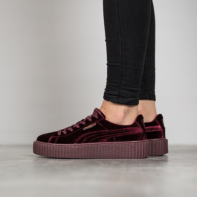 Puma Creepers Velvet Purple