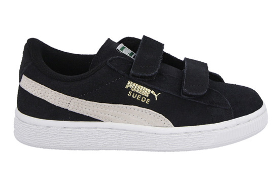 Children's Shoes sneakers Puma Suede 2 Straps Kids 356274 01