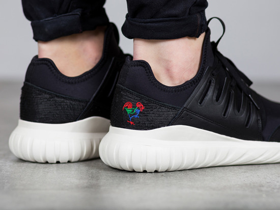 "Men's Shoes sneakers adidas Originals Tubular Radial CNY ""Chinese New Year"" Pack Year Of The Rooster BA7780"
