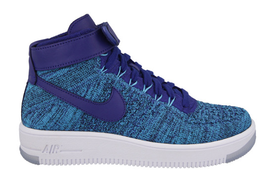 Women's Shoes sneakers Nike Air Force 1 Flyknit 818018 400