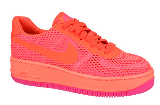 Women's Shoes sneakers Nike Air Force1 Low Upstep Breeze 833123 800