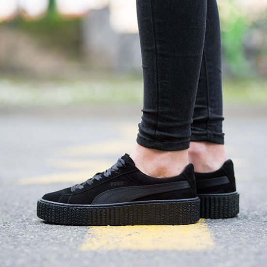 the best attitude c56c3 4bded bellapesto: shoes sneakers puma suede creepers satin fenty ...