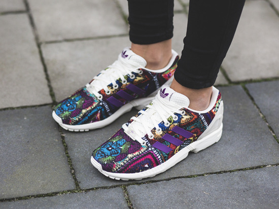 Women's Shoes sneakers adidas Originals ZX Flux x The Farm Company S76593