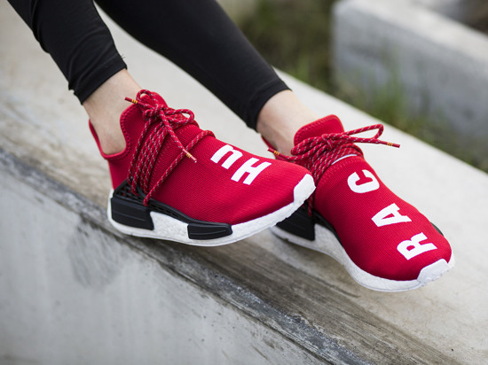 "Women's Shoes sneakers adidas Originals x Pharrell Williams ""Human Race"" NMD BB0616"