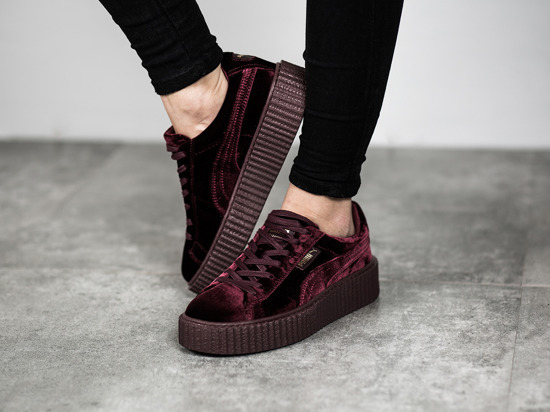 new product 38ae2 8b8f3 Puma Velvet Creepers Womens wearpointwindfarm.co.uk