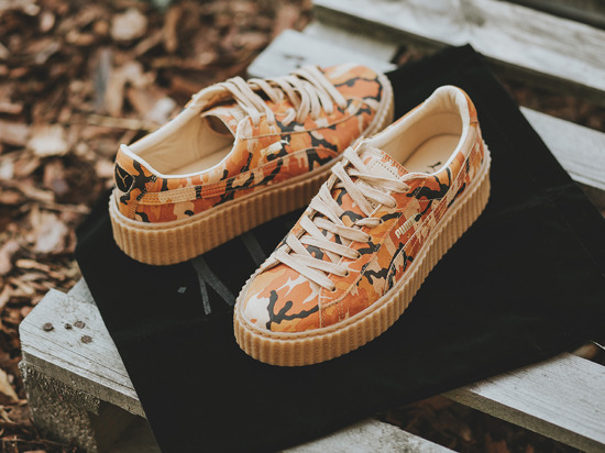 sports shoes be6ff 995eb Puma Fenty Creepers Camo wearpointwindfarm.co.uk